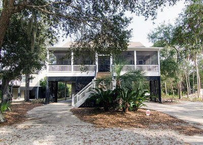 Edisto Island Single Family Home For Sale: 1911 Baynard Street