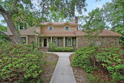 Charleston Single Family Home Contingent: 1511 Saint Helenas Point