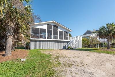 Folly Beach SC Single Family Home For Sale: $875,000
