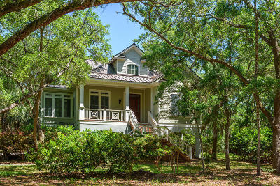 Seabrook Island Single Family Home For Sale: 2455 Seabrook Island Road