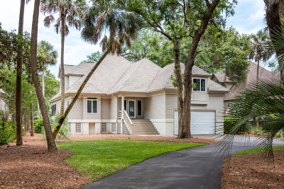 Seabrook Island Single Family Home For Sale: 3003 Hidden Oak Drive