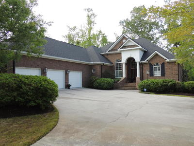 North Charleston Single Family Home For Sale: 4155 Club Course Drive