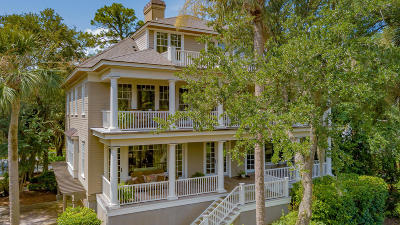 Kiawah Island Single Family Home For Sale: 51 Ocean Course Drive