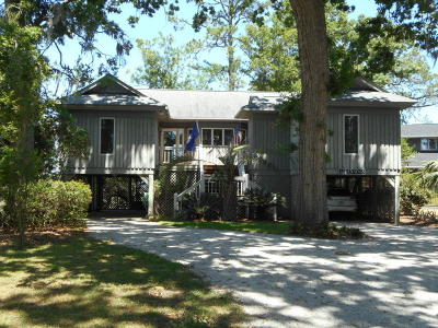 Edisto Island Single Family Home Contingent: 4 Island Cove
