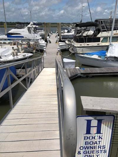 Seabrook Island Boat Slip For Sale: 1880 Andell Bluff Boulevard #H-15