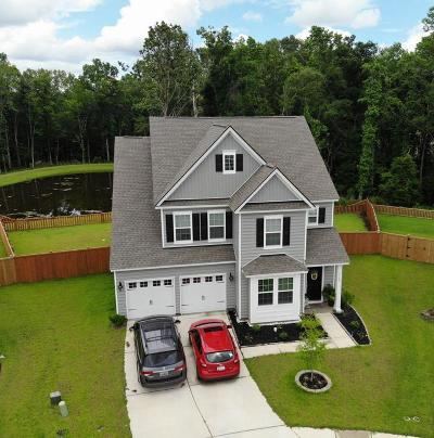 Ladson Single Family Home Contingent: 9840 Black Tupelo Lane