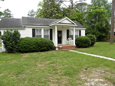 Walterboro Single Family Home For Sale: 215 Meadow