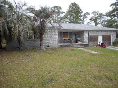 Edisto Island SC Single Family Home Contingent: $225,000