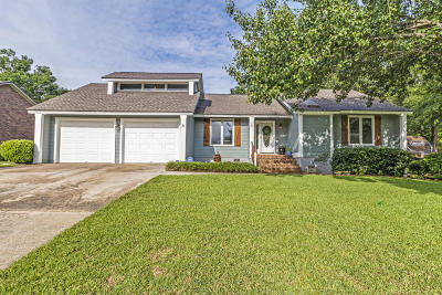 Goose Creek Single Family Home Contingent: 107 Mill Water Lane