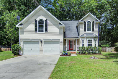 Charleston Single Family Home Contingent: 607 Majestic Oak Drive