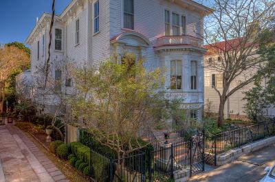 Charleston Single Family Home For Sale: 24 New Street