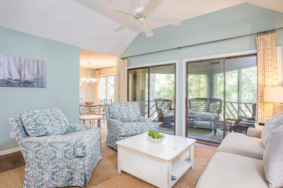 Kiawah Island Attached For Sale: 4754 Tennis Club Villas
