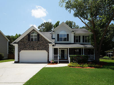 Goose Creek Single Family Home Contingent: 131 Belleplaine Drive Drive