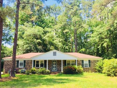 Walterboro Single Family Home For Sale: 401 Lynnwood Road