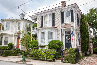 Charleston Single Family Home Contingent: 15 New Street