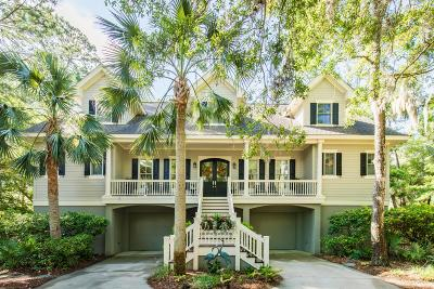 Seabrook Island Single Family Home For Sale: 2133 Loblolly Lane
