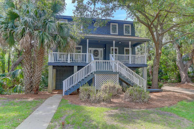 Isle Of Palms Single Family Home Contingent: 15 Sandwedge Lane