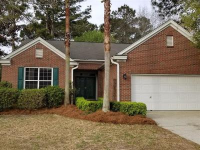 Mount Pleasant Single Family Home For Sale: 1338 Somersby Lane