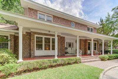 Summerville Single Family Home For Sale: 100 Manigault Drive