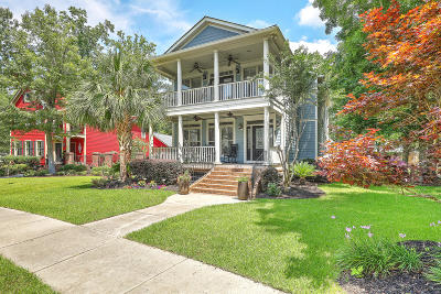 North Charleston Single Family Home For Sale: 8537 Refuge Point Circle