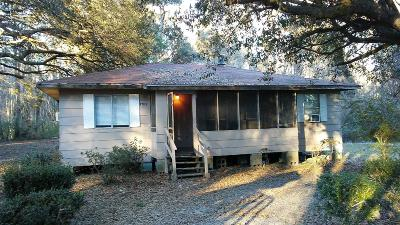 Single Family Home For Sale: - N Highway 17