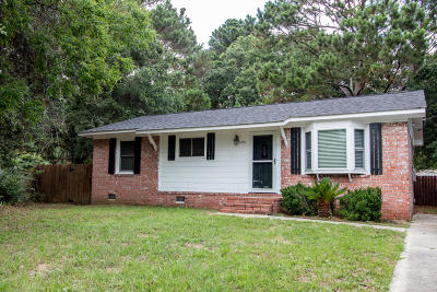 Charleston Single Family Home Contingent: 1491 Seacroft Road