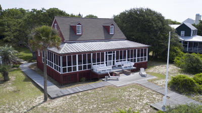 Sullivans Island Single Family Home For Sale: 1109 Middle Street