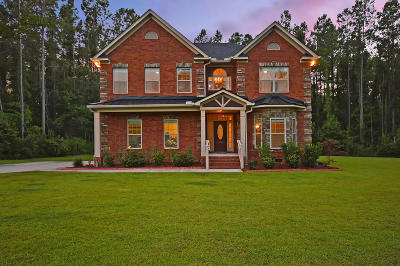 Moncks Corner Single Family Home Contingent: 1081 Wassamassaw Plantation Drive