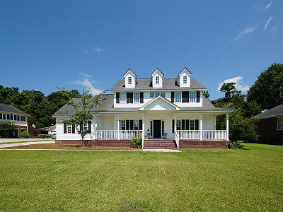 Charleston Single Family Home For Sale: 223 Burnham Court
