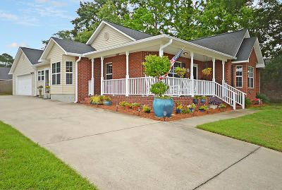 Goose Creek Single Family Home Contingent: 117 Crystal Street