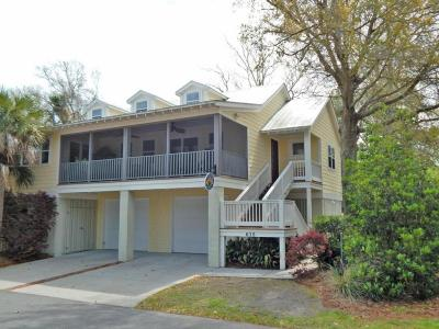 Folly Beach Single Family Home Contingent: 615 E Erie Avenue