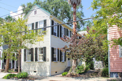 Charleston Single Family Home For Sale: 12 Gadsden Street