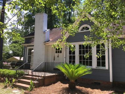 Walterboro Single Family Home For Sale: 405 Forest Hills Road