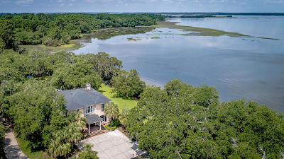 Wadmalaw Island Single Family Home For Sale: 6112 Josie Ridge Road
