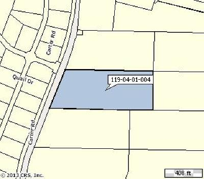 Residential Lots & Land For Sale: 4 Carter Road