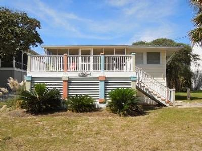 Folly Beach SC Single Family Home Contingent: $689,000