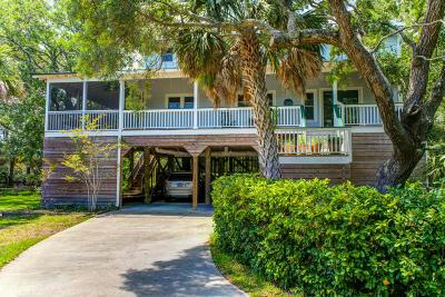 Folly Beach Single Family Home Contingent: 41 Lempesis Lane