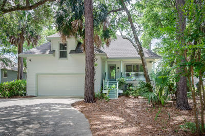 Seabrook Island Single Family Home For Sale: 2990 Seabrook Island Road