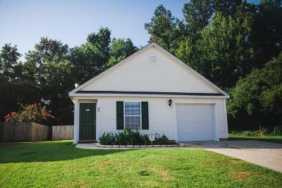 Summerville Single Family Home For Sale: 93 Blue Jasmine Lane
