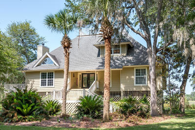 Edisto Island Single Family Home For Sale: 8837 Palmetto Road