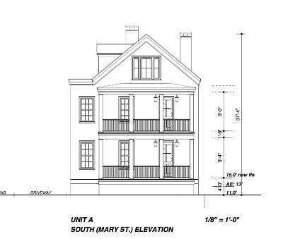 Charleston Multi Family Home For Sale: 22 Mary Street #A,  B,