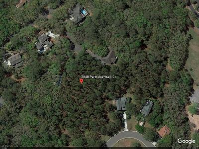 Johns Island Residential Lots & Land For Sale: 2840 Partridge Walk Court
