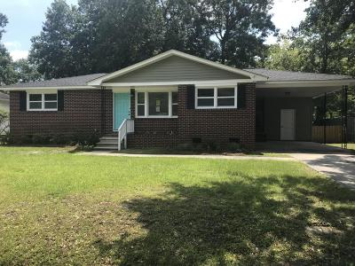North Charleston Single Family Home For Sale: 5321 Smokey Street