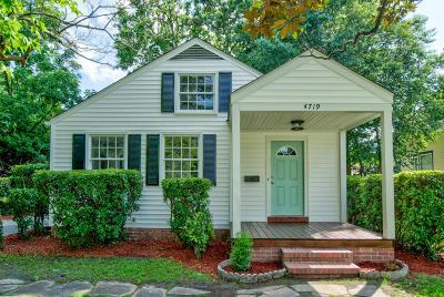North Charleston Single Family Home Contingent: 4719 Churchill Road