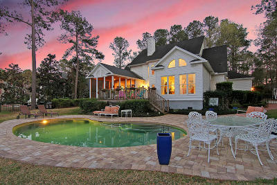 Mount Pleasant SC Single Family Home For Sale: $1,100,000