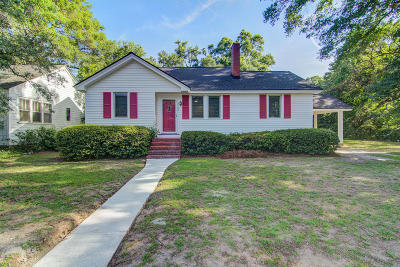 Charleston Single Family Home For Sale: 2120 Welch Avenue