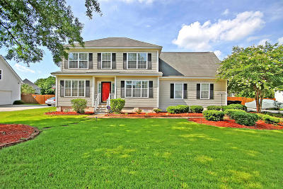 Moncks Corner Single Family Home Contingent: 1215 Francis Marion Circle