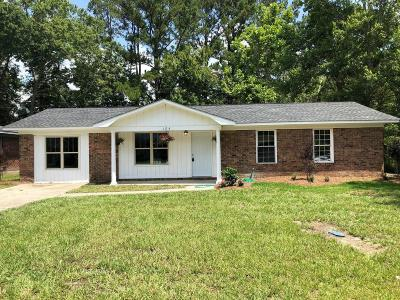 Summerville SC Single Family Home For Sale: $140,500