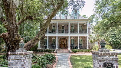 Charleston Single Family Home For Sale: 362 Beresford Woods Lane