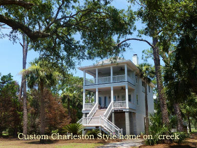 Edisto Island SC Single Family Home For Sale: $698,900